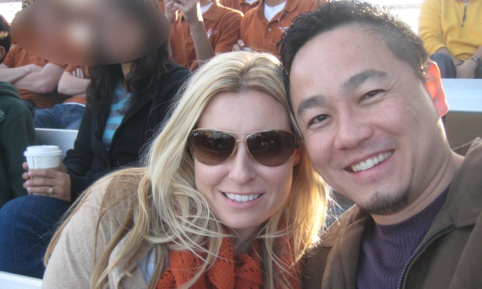 Melissa and Dennis selfie